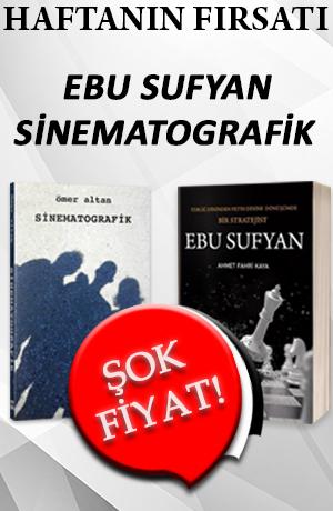 Haftanın Fırsatı - EBU SUFYAN ve SİNEMATOGRAFİK ( 2 KİTAP BİR ARADA )