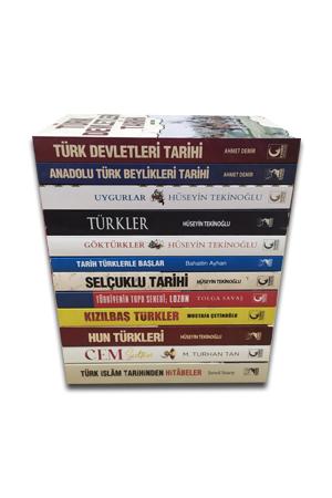 Türk Tarihi Seti (12 Kitap) - 2 SET