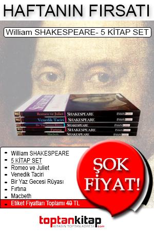 Haftanın Fırsatı - William Shakespeare 5 Kitap Set