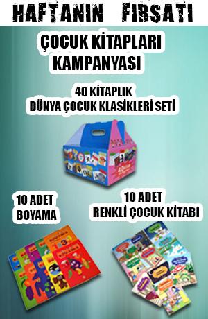 Haftanın Fırsatı - Çocuk Kitapları Kampanyası (60 Kitap)